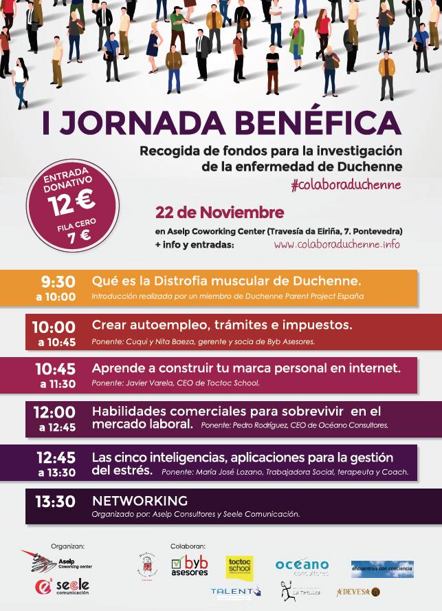 Jornada Benefica Duchenne - Pontevedra