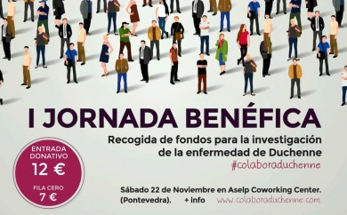 Jornada Solidaria - Colabora Duchenne - Pontevedra