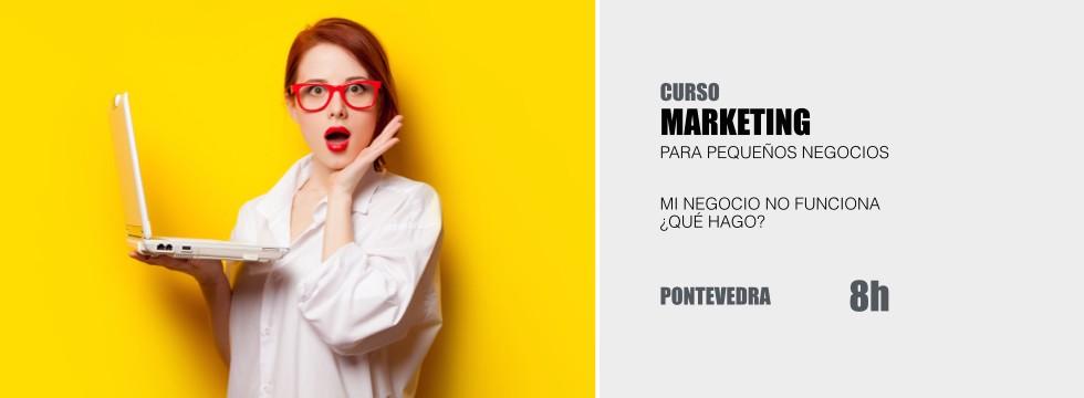 Curso Marketing para Pequeño Comercio PYMES Javier Varela - Pontevedra
